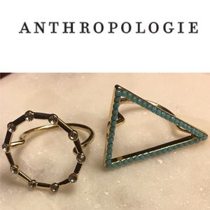 Athropologie Rings
